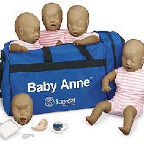 Baby Anne Four Pack (Dark Skin)