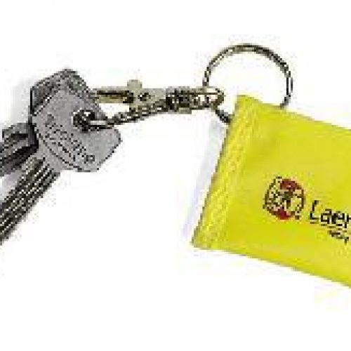 Laerdal Face Shield CPR Barrier Keychain – Yellow (25pk)
