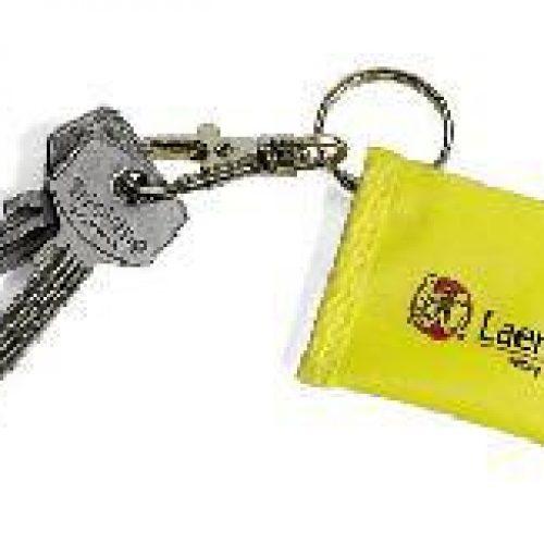 Laerdal Face Shield CPR Barrier Keychain – Yellow (25pk)