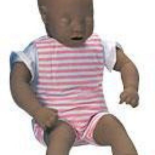 Baby Anne Manikin w/Soft Pack Brown Skin