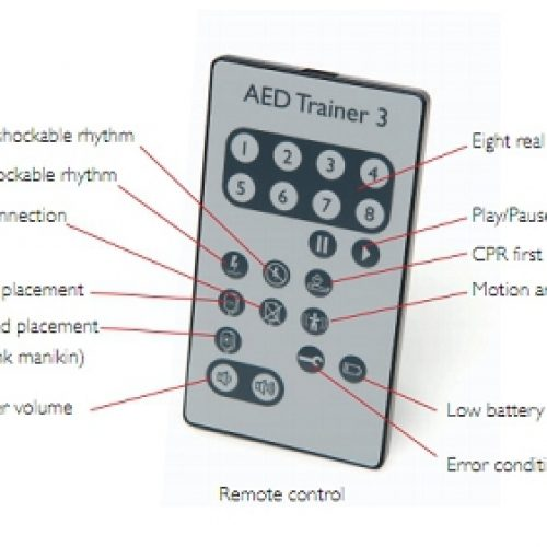 Remote Control for FR3 AED Trainer